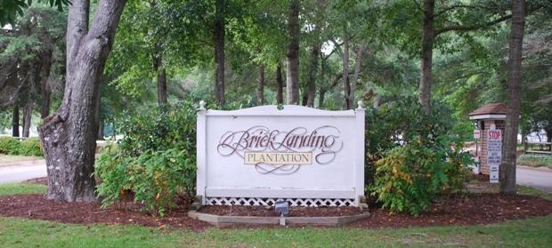 Brick Landing Plantation Main Gate | Suzanne Polino REALTOR