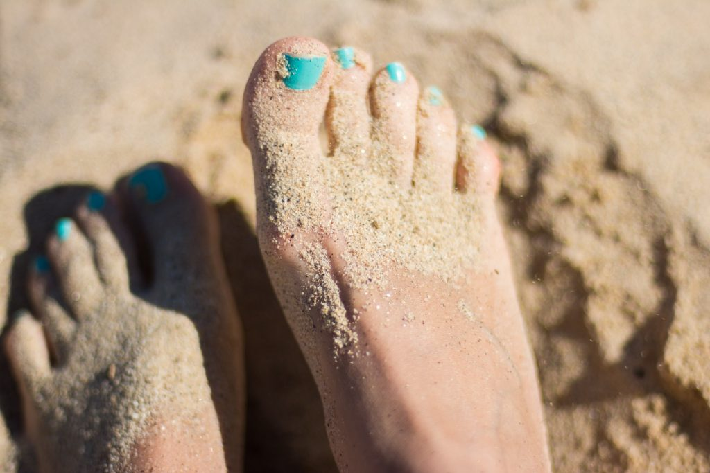Sandy Toes | Suzanne Polino REALTOR